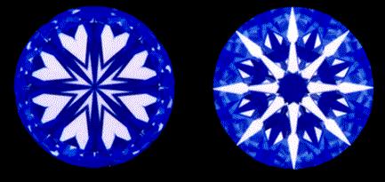 Kim cương Heart & Arrow